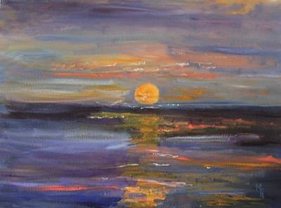 Painting - Moon Magic by Michael Helfen