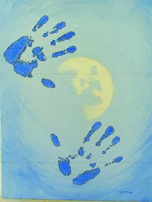 Moon Man Art Print by Michael DeMusz