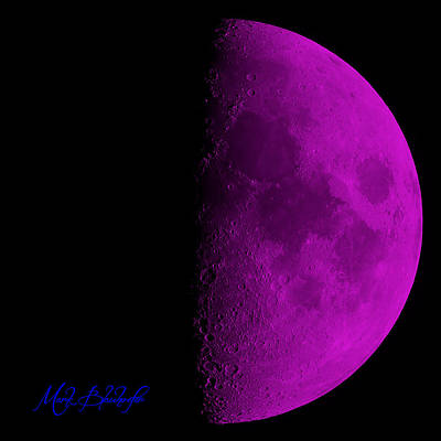 Photograph - Moon by Mark Blauhoefer