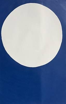 Painting - Moon by Matthew Brzostoski