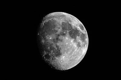 Autumn Photograph - Moon October 12, 2016 by Rick Grossman