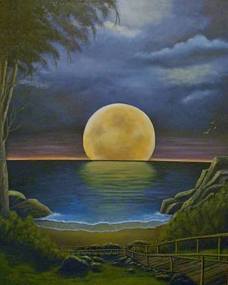 Painting - Moon Of My Dreams II by Sheri Keith
