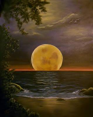 Painting - Moon Of My Dreams by Sheri Keith