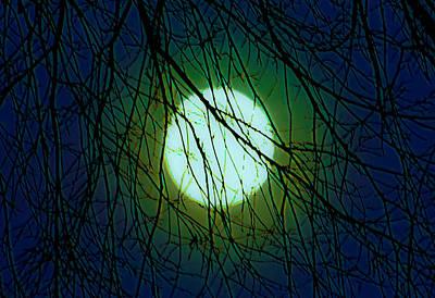 Digiart Diaries Digital Art - Moon Of The Werewolf by DigiArt Diaries by Vicky B Fuller