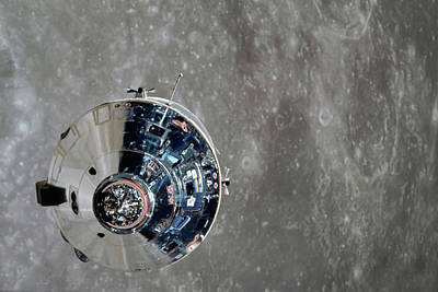 Photograph - Moon Orbit by Peter Chilelli