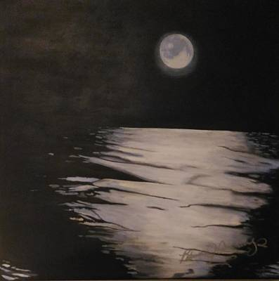 Painting - Moon Over The Wedge by Patricia Brewer-Cummings