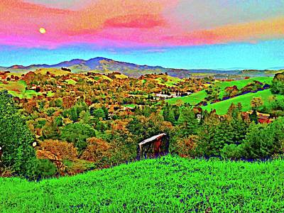 Photograph - Moon Over Diablo by Cadence Spalding