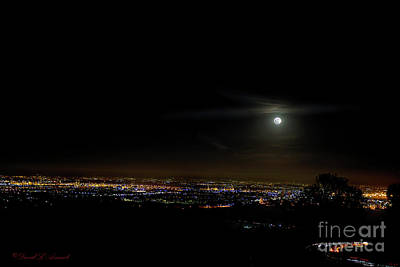 Photograph - Moon Over La Basin by David Arment