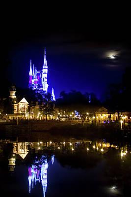 Photograph - Moon Over Magic by Mark Andrew Thomas