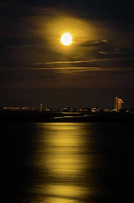 Photograph - Moon Over Tubbs by Gerald Monaco