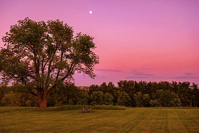 Photograph - Moon Over Valley Forge by Rima Biswas