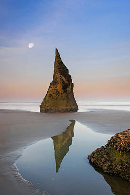 Photograph - Moon Over Wizard by Michael Blanchette
