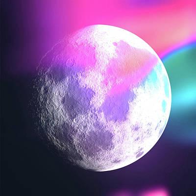 Moon Phase 1 N.3 Art Print