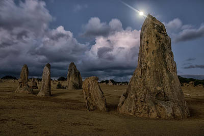 Photograph - Moon Pinnacles by Martin Capek