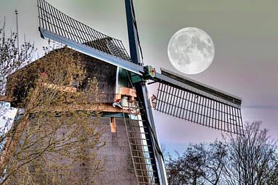 Photograph - Moon Power by Nadia Sanowar