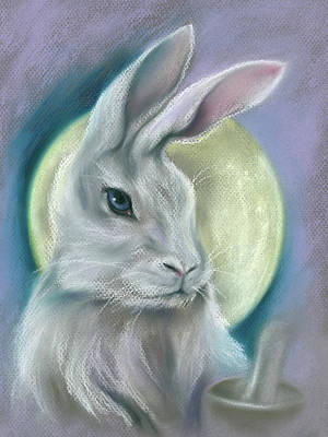 Pastel - Moon Rabbit by MM Anderson