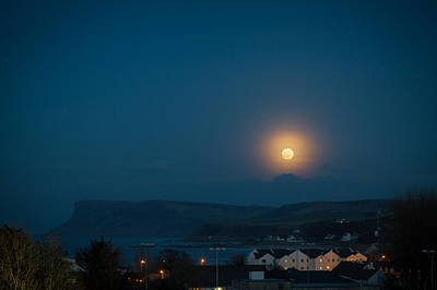 Photograph - Moon Rise by Alex Leonard