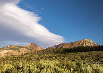 Photograph - Moon Rise by Brandon Bonafede