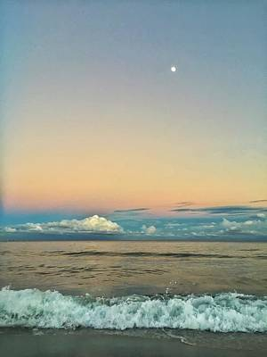 Photograph - Moon Rise by Juan Montalvo