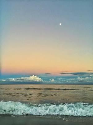 Photograph - Moon Rise by Juan Montalvo