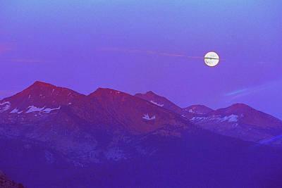 Moon Rise Over Sentinel Dome Original