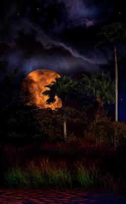Moon River Art Print by Mark Andrew Thomas