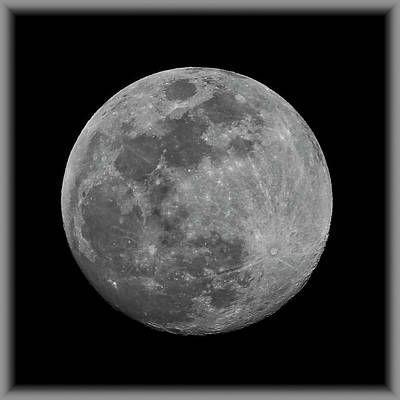 Photograph - Moon S15 by Mark Myhaver