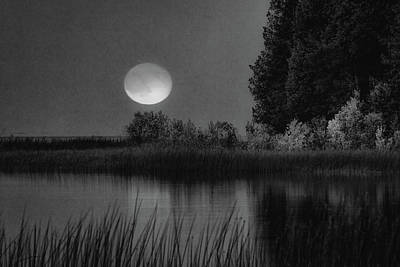 Photograph - Moon Shadow  by David Heilman