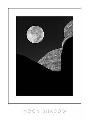 Moon Shadow Poster Art Print by Mike Nellums