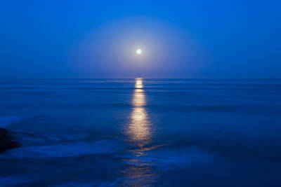 Moon Shine Art Print