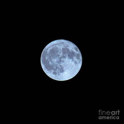 Photograph - Moon Shot 9 by Robert Knight