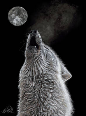Moon Song Art Print by Terry Kirkland Cook