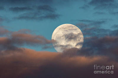 Photograph - Moon Through The Clouds by Mimi Ditchie
