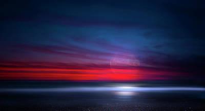 Photograph - Moon Tide by Mark Andrew Thomas