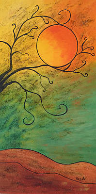 Painting - Mooncatcher by Renate Dartois
