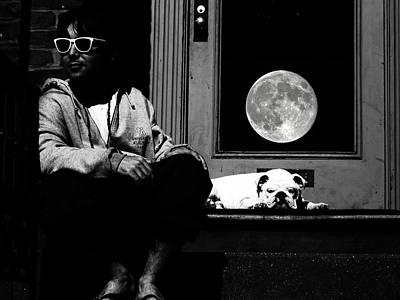 Photograph - Moondog by Tony Murray