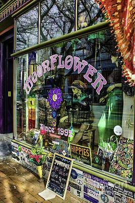Photograph - Moonflower Boutique by Sandy Moulder