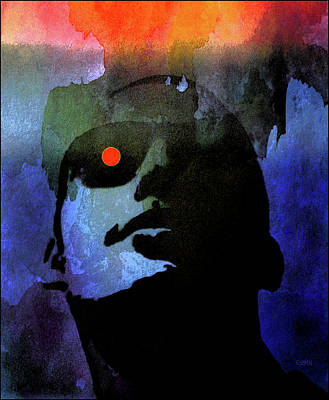 Art Print featuring the photograph Moonglasses by Jeff Gettis