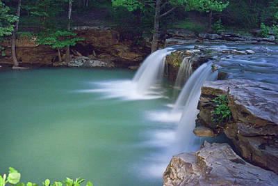 Photograph - Moonlght Falls by Robert Camp