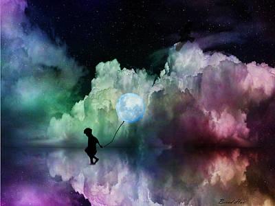 Digital Art - Moonlight Avenue by Bernd Hau