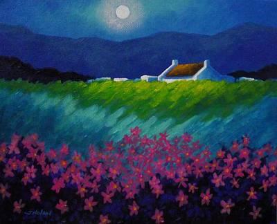 Moonlight County Wicklow Art Print