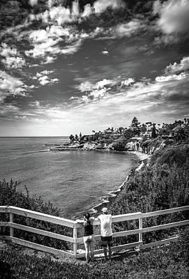 Photograph - Moonlight Cove Overlook by T Brian Jones
