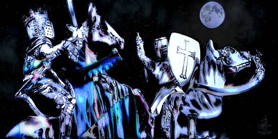 Photograph - Moonlight Crusade by Pennie  McCracken