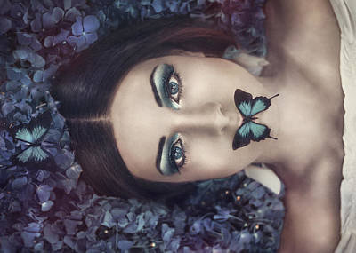 Flower Photograph - Moonlight Dance by Antonia Glaskova