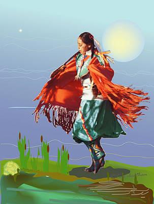 Moonlight Dance Art Print