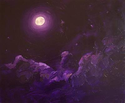 Arousal Painting - Moonlight Desire  by Roland Kay