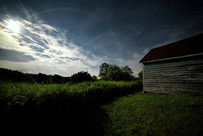 Photograph - Moonlight Farm No. 1 by Geoffrey Coelho
