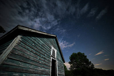 Photograph - Moonlight Farm No. 4 by Geoffrey Coelho