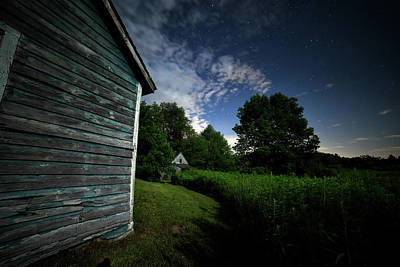 Photograph - Moonlight Farm No. 5 by Geoffrey Coelho