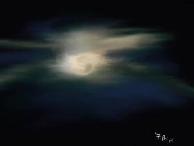 Digital Art - Moonlight by Frank Bright